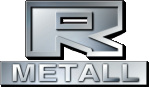 Rolvsøy metall logo. Grafikk